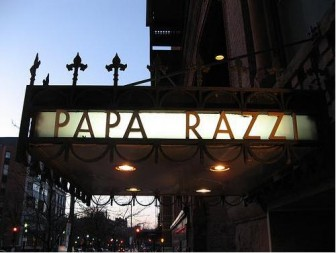 The sun was almost setting by the time our brunch at Papa Razzi was over.