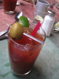 First round Bloody Mary