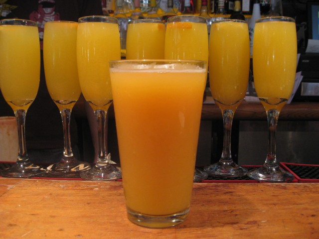 Manmosa: King of Brunch Drinks