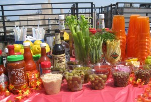 Knockout Brunch Make-Your-Own Bloody Mary Bar