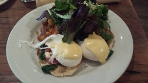 Eggs Florentine at City Winery